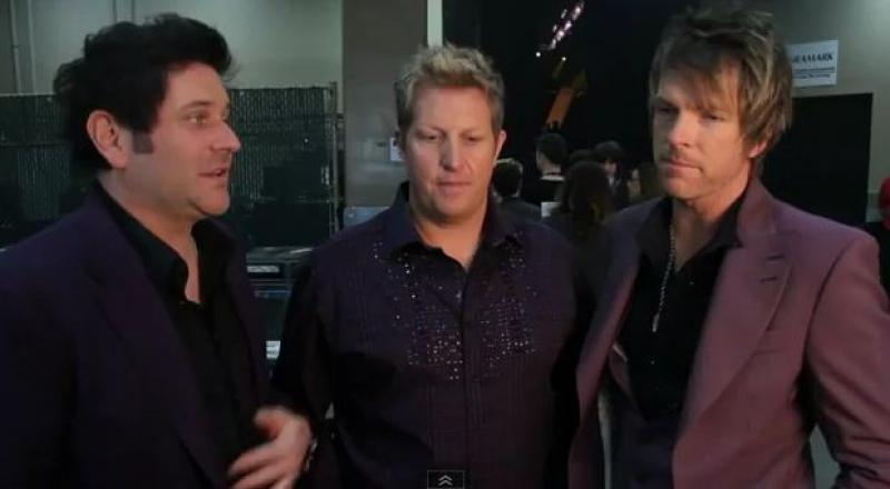 Rascal Flatts - ACM Presents: Lionel Richie and Friends - In Concert Backstage Interview